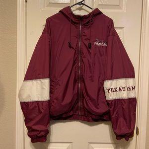 Texas A&M Aggies Reversible Jacket Size XL